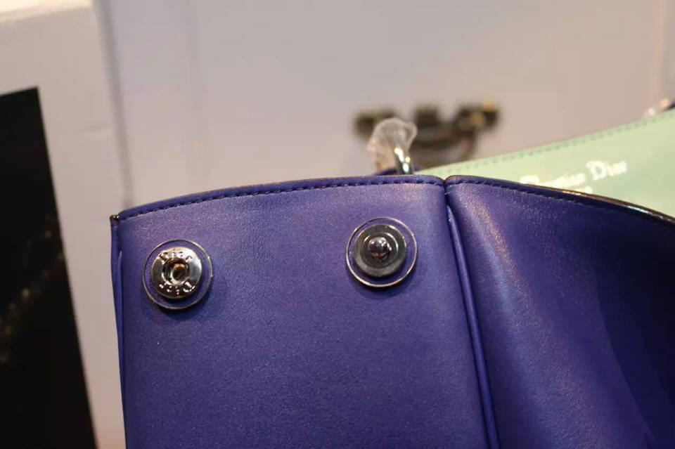 高档奢侈品女包 Dior Diorissimo迪奥Vip系列 大号38CM 原版平纹牛皮女士手提包单肩包