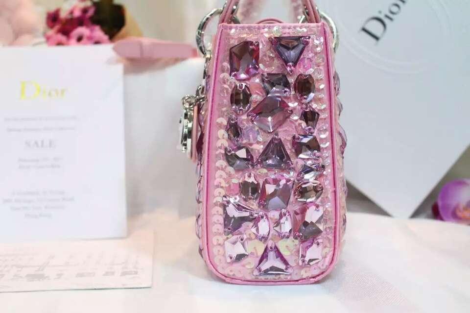Lady Dior迪奥戴妃包新款 迷你戴妃包手提斜挎女包17cm