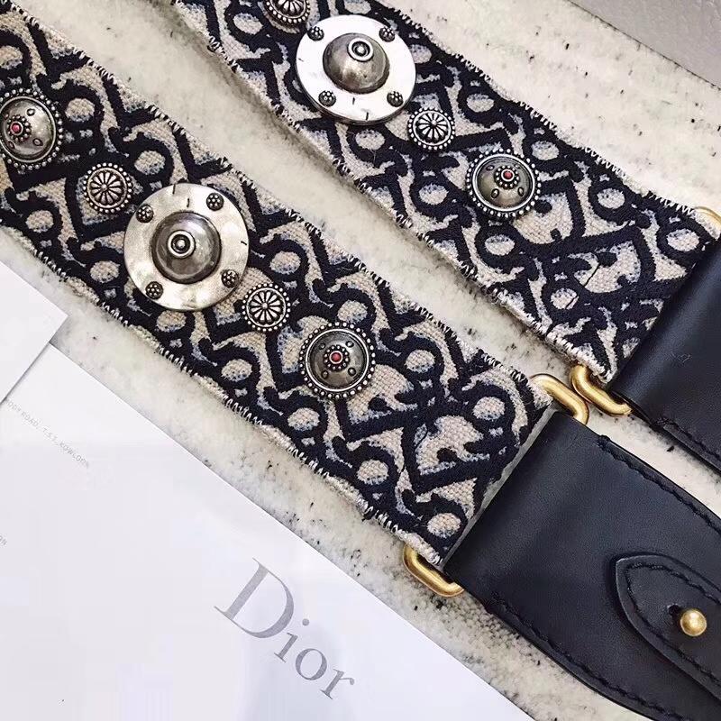 Dior新款肩带 迪奥复古提花帆布宽肩带 可单独购买